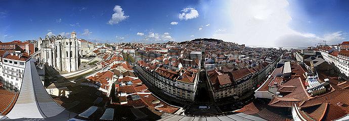 Panorama: Lissabon