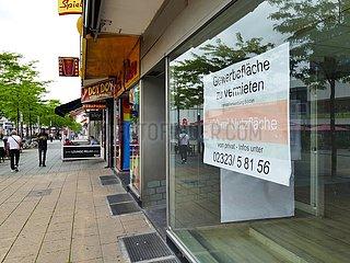 Leerstehende Ladenlokale in Herne | Vacant shops in Herne