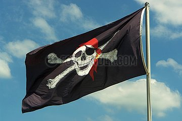 Piratenflagge | pirate flag