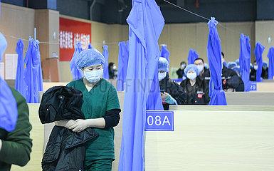 CHINA-HUBEI-WUHAN-NCP-TCM-Hospital (CN)