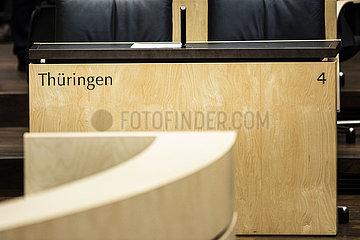 Sitzung des Bundesrates