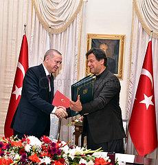 PAKISTAN-ISLAMABAD-TURKEY-COOPERATION