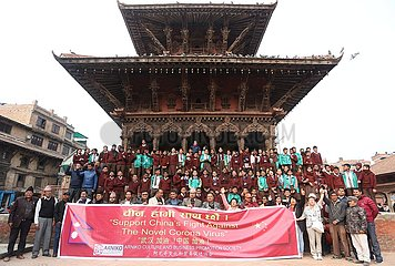 NEPAL-LALITPUR-CHINA-SUPPORT