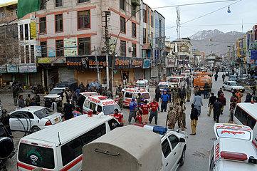 PAKISTAN-QUETTA-SUICIDE BLAST