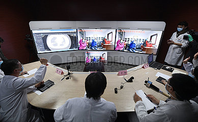 CHINA-NINGXIA-YINCHUAN-TELE-CONSULTATION-NOVEL CORONAVIRUS (CN)