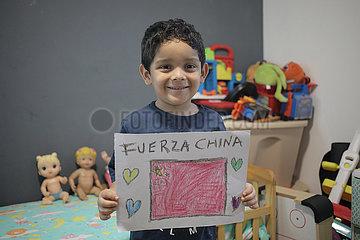 PANAMA-PANAMA CITY-CHINA-NOVEL CORONAVIRUS-SUPPORT
