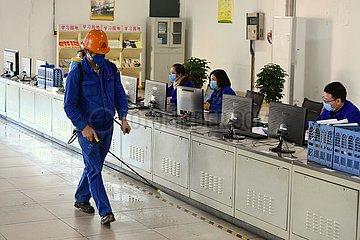 CHINA-FUJIAN-CORONAVIRUS-STEEL COMPANY-PRODUCTION-RESUMPTION (CN)