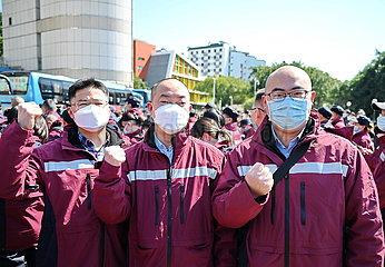 CHINA-FUJIAN-FUZHOU-NCP-MEDICAL TEAM-AID (CN)