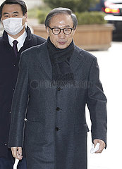 SOUTH KOREA-SEOUL-FORMER PRESIDENT-LEE MYUNG BAK-SECOND TRIAL