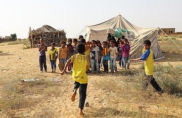 YEMEN-HAJJAH-WAR-STUDENTS