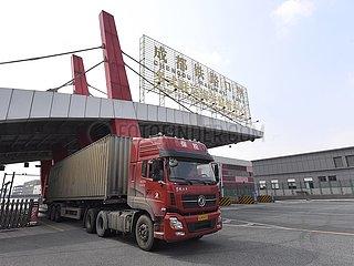 CHINA-SICHUAN-CHENGDU-FREIGHT TRAIN-OPERATION (CN)