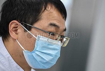CHINA-GUANGDONG-GUANGZHOU-NOVEL CORONAVIRUS-MEDICAL WORKER-VIRUS DETECTION (CN)