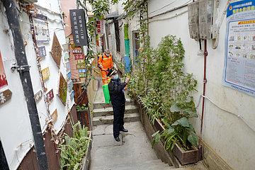 CHINA-CHONGQING-ANCIENT TOWN-NOVEL CORONAVIRUS-URBAN MANAGEMENT (CN)