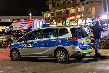 (SPOT NEWS)GERMANY-HANAU-SHOOTINGS-DEATH