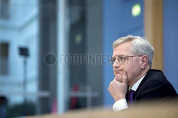 Norbert Roettgen - Announces Candidacy For CDU Leadership