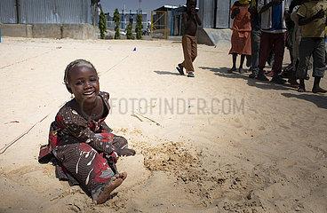 Kindheit im Fluechtlingslager in Nigeria