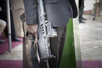 Personenschuetzer fuer den Gouverneur von Borno State