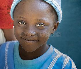 Maedchen in Nigeria