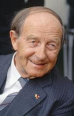 Hans Filbinger  CDU  Portraet  1986