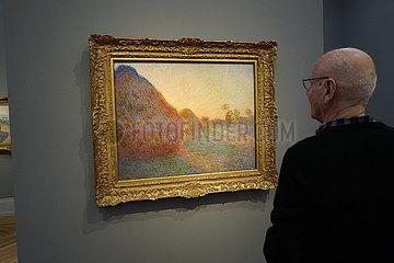 Ausstellung Monet. Orte   Museum Barberini