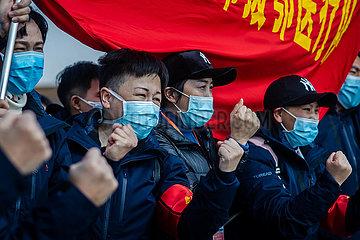 CHINA-YUNNAN-KUNMING-NCP-MEDICAL TEAM-AID (CN)