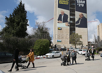 MIDEAST-JERUSALEM-ELECTION-CAMPAIGN