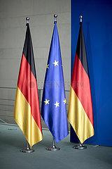 Chancellery Office  German Flag