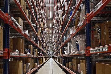 Deutschland  Nordrhein-Westfalen-Amazon Logistikzentrum in Rheinberg