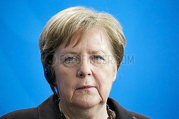 Berlin  Deutschland - Bundeskanzlerin Angela Merkel.