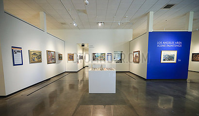 U.S.-ORANGE COUNTY-HILBERT MUSEUM-ART