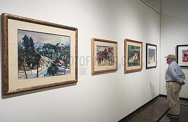 U.S.-ORANGE COUNTY-HILBERT MUSEUM-ART