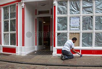 Renovierung eines Ladenlokals in Canterbury | Renovation of a shop in Canterbury