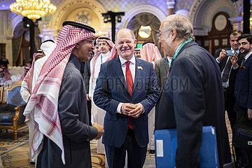 Olaf Scholz beim G20-Finanzministertreffen