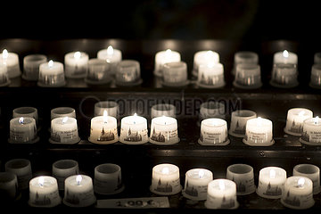 Trauerfeier fuer einsam Verstorbene