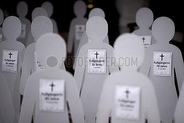 Trauerfeier Opfer Verkehrstote