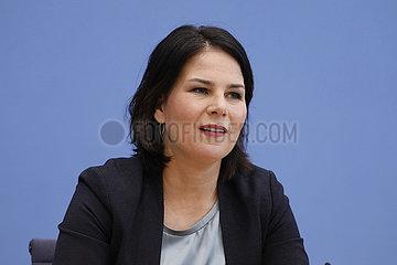 Bundespressekonferenz zum Thema: Buendnis 90/Die Gruenen - Auswirkungen der Buergerschaftswahl in Hamburg auf die Bundespolitik
