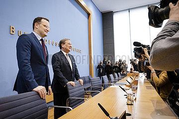 Armin Laschet und Jens Spahn