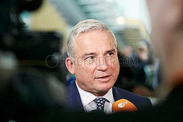 Berlin  Deutschland - CDU-Politiker Thomas Strobl bei einem Interview.