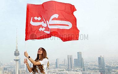 KUWAIT-KUWAIT CITY-NATIONAL DAY-CELEBRATION