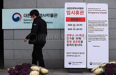 SÜDkorea-COVID-19-PATIENTEN Erhöhungs SÜDkorea-COVID-19-PATIENTEN Erhöhungs