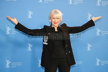DEUTSCHLAND-BERLIN-BERLINALE 2020-Helen Mirren-Goldener Ehrenbär