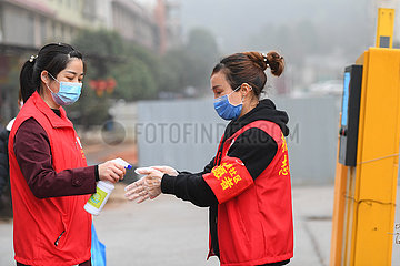 CHINA-HUNAN-CHANGSHA-VOLUNTEER (CN)