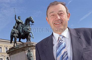 Guenther Beckstein  CSU  Bayerischer Innenminister  1997