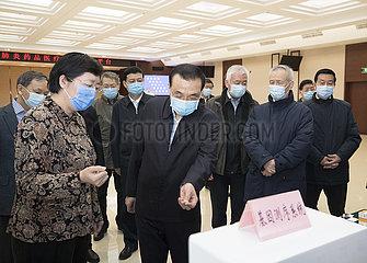 CHINA-PEKING LI Keqiang-MEDICAL SCIENCE-EPIDEMIC Kampf INSPECTION (CN)
