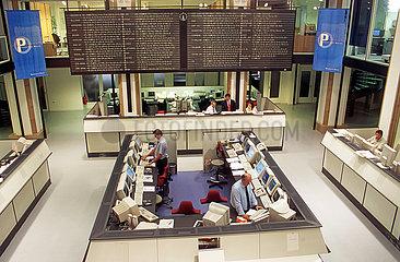 Bayerische Boerse  Muenchen  August 2000