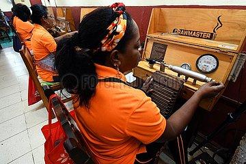 KUBA-HAVANA-Zigarrenfabrikanten