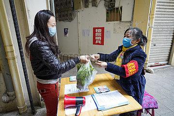 CHINA-CHONGQING-Kräfte Wächter (CN)
