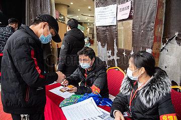 CHINA-HUNAN-ZHUZHOU-NOVEL CORONAVIRUS-Online-Verkauf-Kleidungsstück (CN)