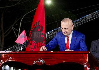 ALBANIEN-TIRANA-RALLY