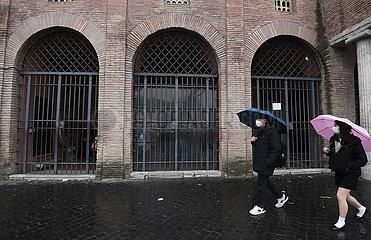 Italien-ROM-NOVEL CORONAVIRUS-INFEKTION-erhöhung